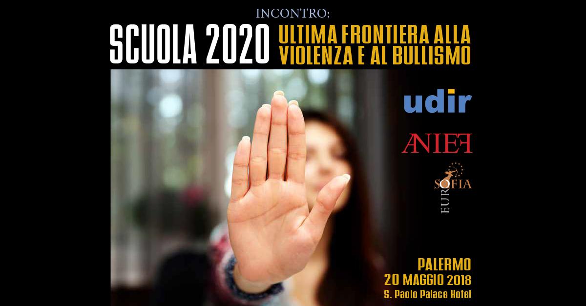 Scuola 2020: ultima frontiera alla violenza e al bullismo.