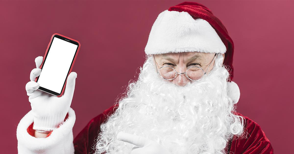 Il Natale deve essere offline e non social