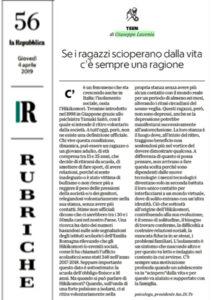 autoisolamento sociale lavenia dite repubblica aprile