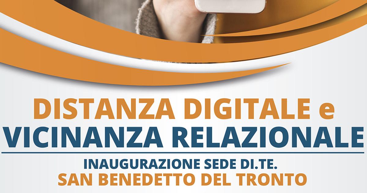 29/6/2019 – Inaugurazione Sede DITE San Benedetto del Tronto