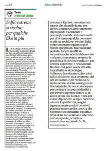 selfie estremi lavenia repubblica giugno