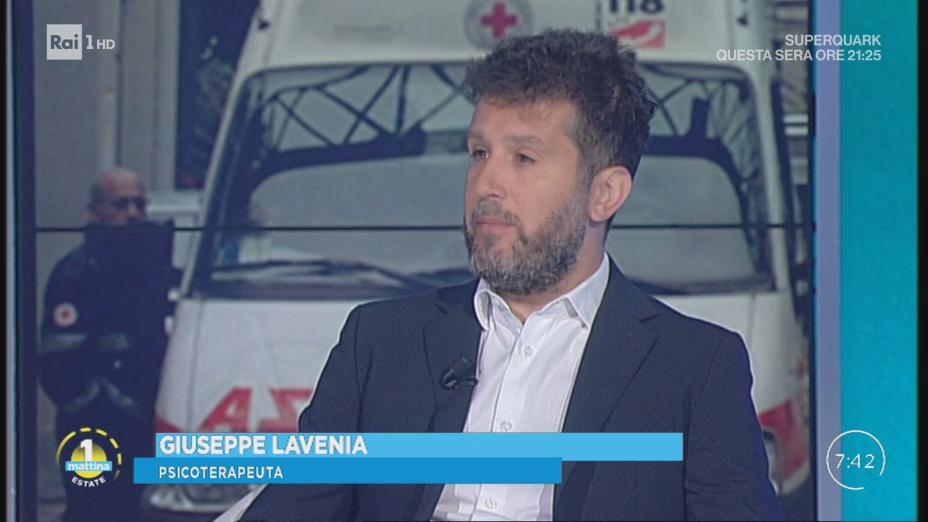 Giuseppe Lavenia ospite a Uno Mattina
