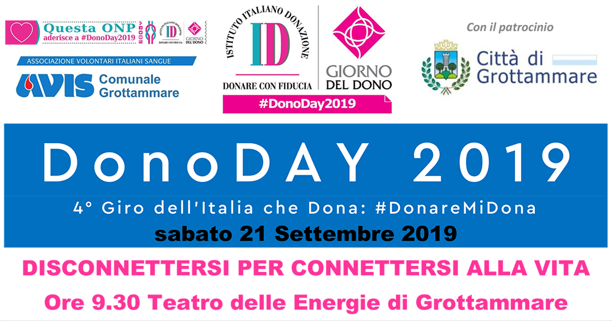 21/09/2019 – Donoday 2019