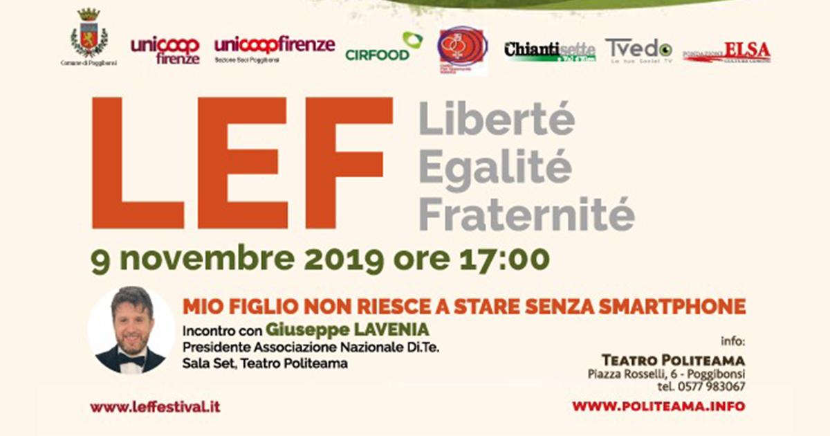 9/11/2019 – LEF Libertà Egalitè Fraternitè