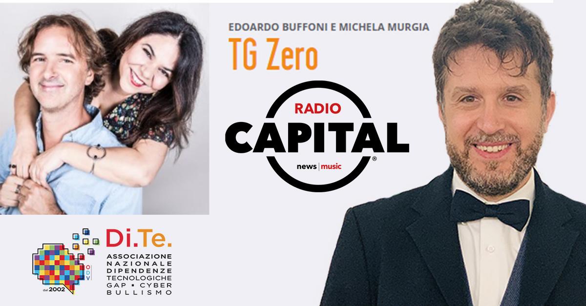 Giuseppe Lavenia ospite a Tgzero – Radio Capital – 12 novembre 2019