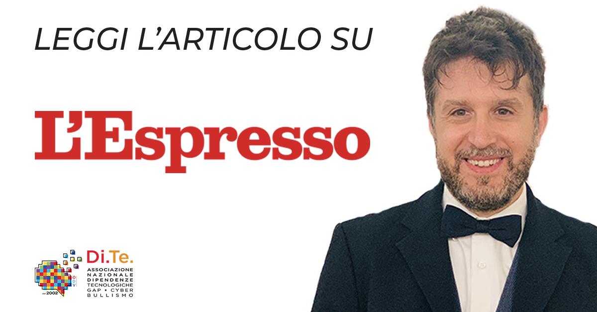l'espresso giuseppe lavenia cover